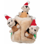 Kyjen Holiday Hide-A-Squirrel Jr. for Your Dog This Holiday Season
