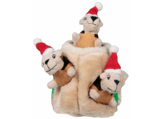 Kyjen Holiday Hide-A-Squirrel Jr