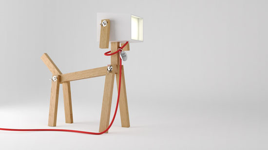 LUMINOSE Dog Lamp