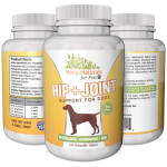 MangaNaturals Hip and Joint Support for Dogs Contains Glucosamine, Chondroitin and MSM