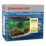 Marineland Eclipse Aquarium System Features Bio-Wheel 3-Stage Filtration System For Crystal Clear and Healthy Water