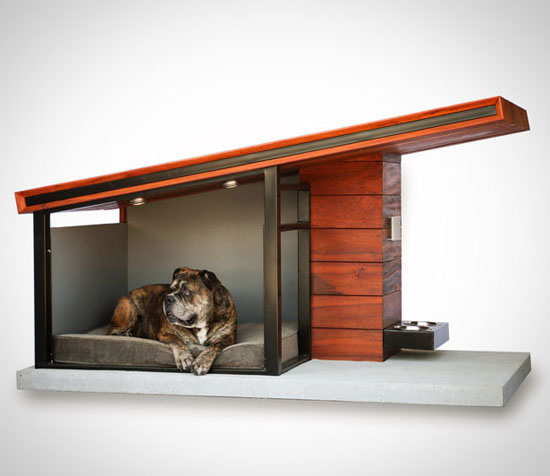 Custom Modern Dog Houses