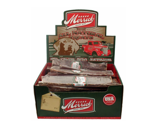 Merrick Jr. Texas Taffy Dog Treats Box of 30