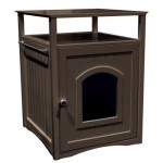 Merry Pet Cat Washroom : Modern Night Stand Pet House to Hide Your Pet Litter Box