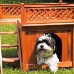 Merry Pet Room-with-a-view Pet House Features Cute Balcony For Your Pet To Relax Under The Sun