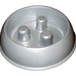 Metal Brake-Fast Dog Food Bowl Prevents Bloat in Dogs
