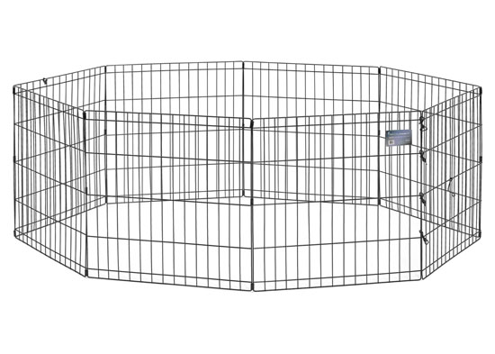Midwest Black E-Coat Exercise Pen