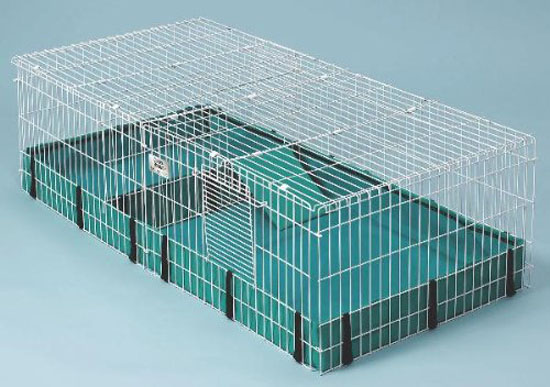 Spacious 8-Square Feet Midwest Interactive Guinea Habitat Plus