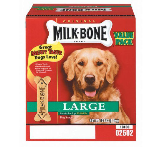 Milk Bone 10 Lb Large Original Dog Biscuits