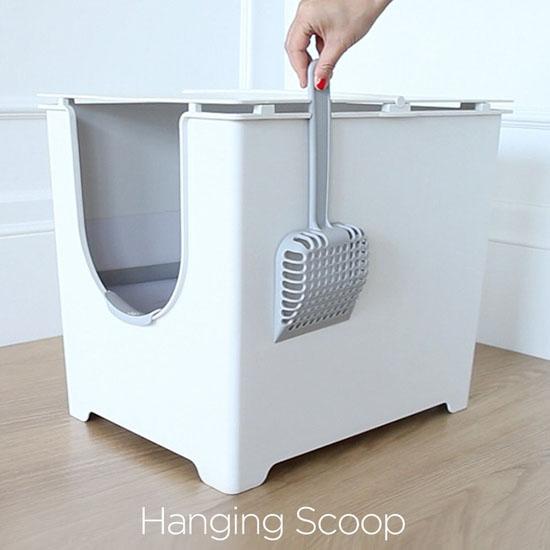 Modkat Flip Litter Box with Scoop and Reusable Liner