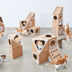 Modular Cardboard Cat House to Suit Any Living Space