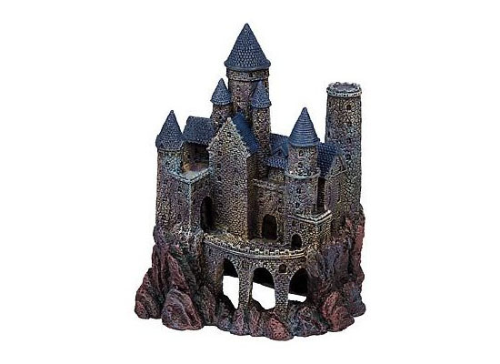 Mythical Magic Castles Aquarium Ornament