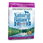 Natural Balance Dry Dog Food With Sweet Potato and Venison Formula Offers Premium Quality Carbohidyrates