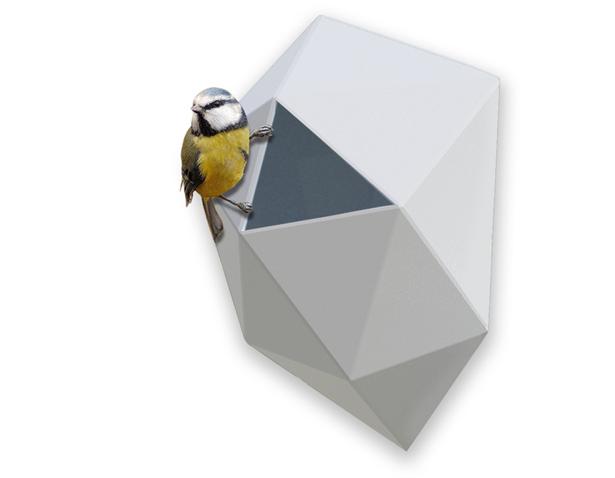 Nido Birdhouse by Alejandra Castelao