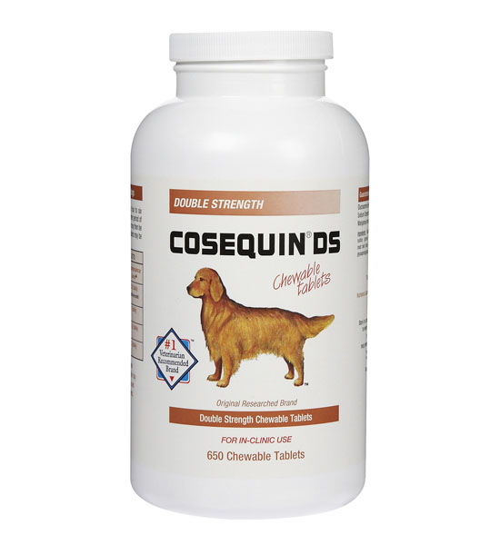 Nutramax Cosequin DS Double Strength Chewable Tablets To Maintain ...