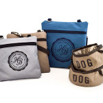 On-the-Go Fold Up Dog Bowls and Pouches Made From 100-percent Recycled Plastic