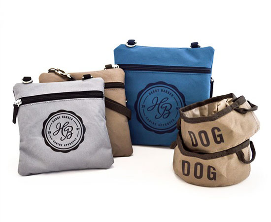 On-the-Go Fold Up Dog Bowls and Pouches