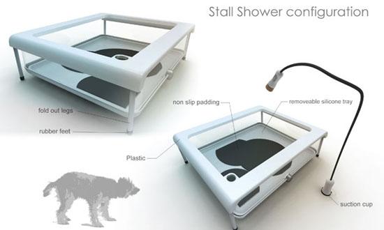 Paw Spa Dog Tub by Emil Blanco