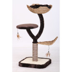 Penn Plax Cat-Life 39-inch Level Climber Cat Tree : A Beautiful Outlet for Your Cat to Scratch