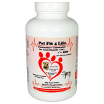 Pet Fit 4 Life Glucosamine Chondroitin Sulfate - Hip and Joint Pain Relief For Dogs
