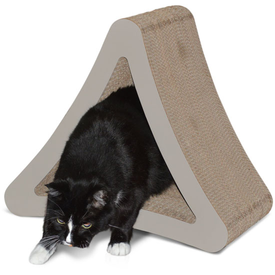 PetFusion 3-Sided Vertical Scratcher