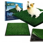 PetZoom Pet Park Indoor Pet Potty For Housebreaking Your Dog