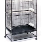 Prevue Pet Wrought Iron Flight Cage with Stand (F040) Offers Plenty of Space to Your Birds