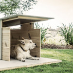 Puphaus Modern Dog House by Pyramd Design Co.