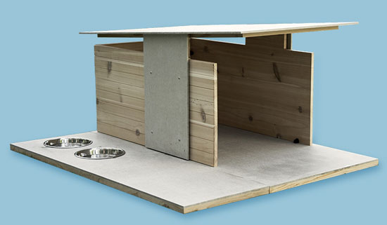 Puphaus Modern Dog House by Pyramddesignco