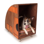 Bohemian Workbench Retro Dog Bed Is Handcrafted with Attention to Details
