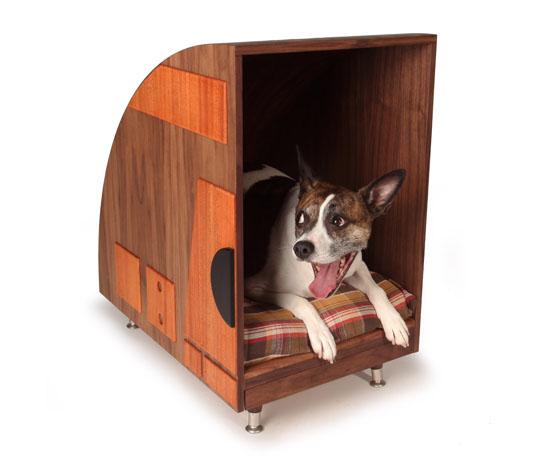 Bohemian Workbench Retro Dog Bed