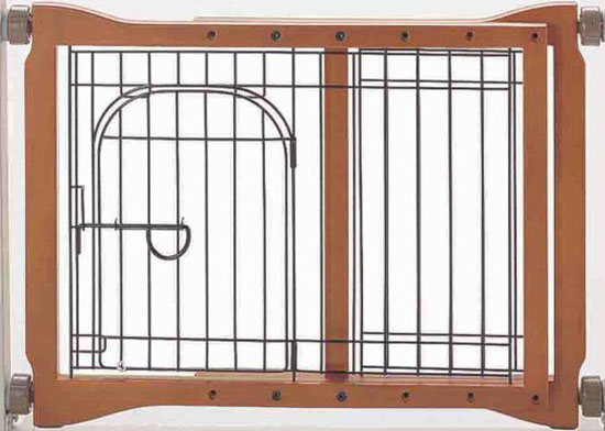 Richell Wood Pet Sitter Gate