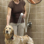 Rinse Ace 3 Way Pet Shower Sprayer: Shower Extension with Long Hose and 3 Spray Options