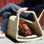 Rocking 2-gether Chair : Hybrid Between A Rocking Chair and A Pet House
