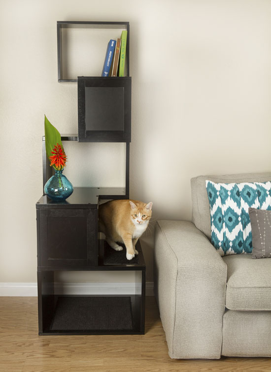 Sebastian 65-inch Modern Cat Tree by Designer Pet Products
