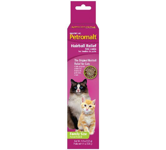 Sentry Petromalt Hairball Treatment for Cats with Malt Flavor