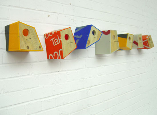 Shop Sign Bird Houses by Peter Marigold