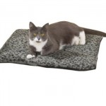Slumber Pet Thermal Cat Mat Keeps Your Cat Warm Using Its Own Body Heat