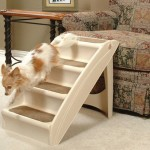 Foldable and Lightweight Solvit PupSTEP Plus Pet Stairs Help Your Pet To Climb to Higher Places Easier