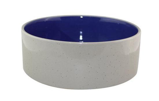 Stoneware Crock Dog Dish