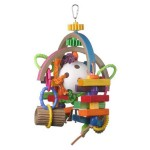 Super Bird Creations Lost in Space Bird Toy Entertains Your Bird for Hours