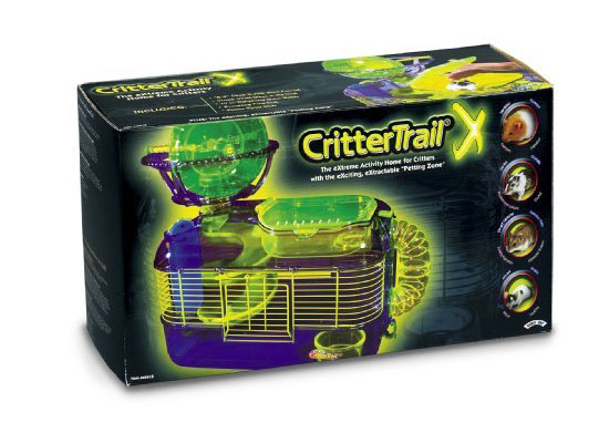 Super Pet Crittertrail Extreme Challenge Habitat Hamster Cage