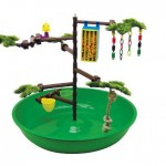 Super Pet Playtime Activity Center : All in One Portable Playground for Parakeets and Cockatiels