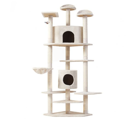 Tabby 80-inch Scratching Post for Your Tabby Cat