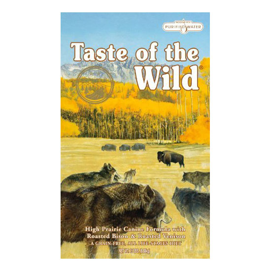 Taste of the Wild Dry Dog Food - Roasted Bison and Roasted Venison