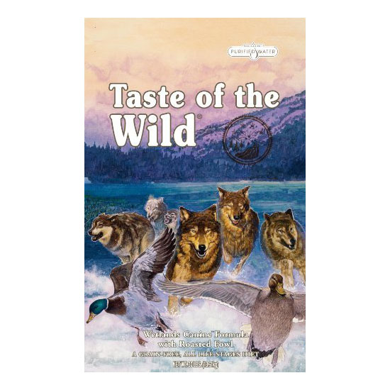 Taste of the Wild Dry Dog Food - Roasted Wild Fowl