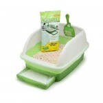 Tidy Cats Breeze Litter Box Features Unique System to Separate Urine and Solid Waste for Easy Maintenance