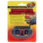 Zoo Med Economy Analog Dual Thermometer and Humidity Gauge for Your Terrarium