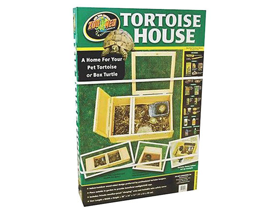 Zoo Med Wood Tortoise House